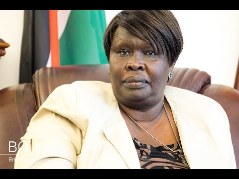 Sitona Abdalla Osman Ambassador of South Sudan to Germany