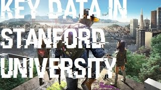 Watch Dogs 2 Key Data in Stanford University Location