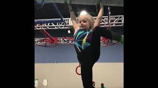 American Ninja Warrior Junior fun with Lucia, five years old