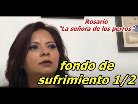 """Rosario """"La señora de los perros"""" fondo de sufrimiento 1/2"""