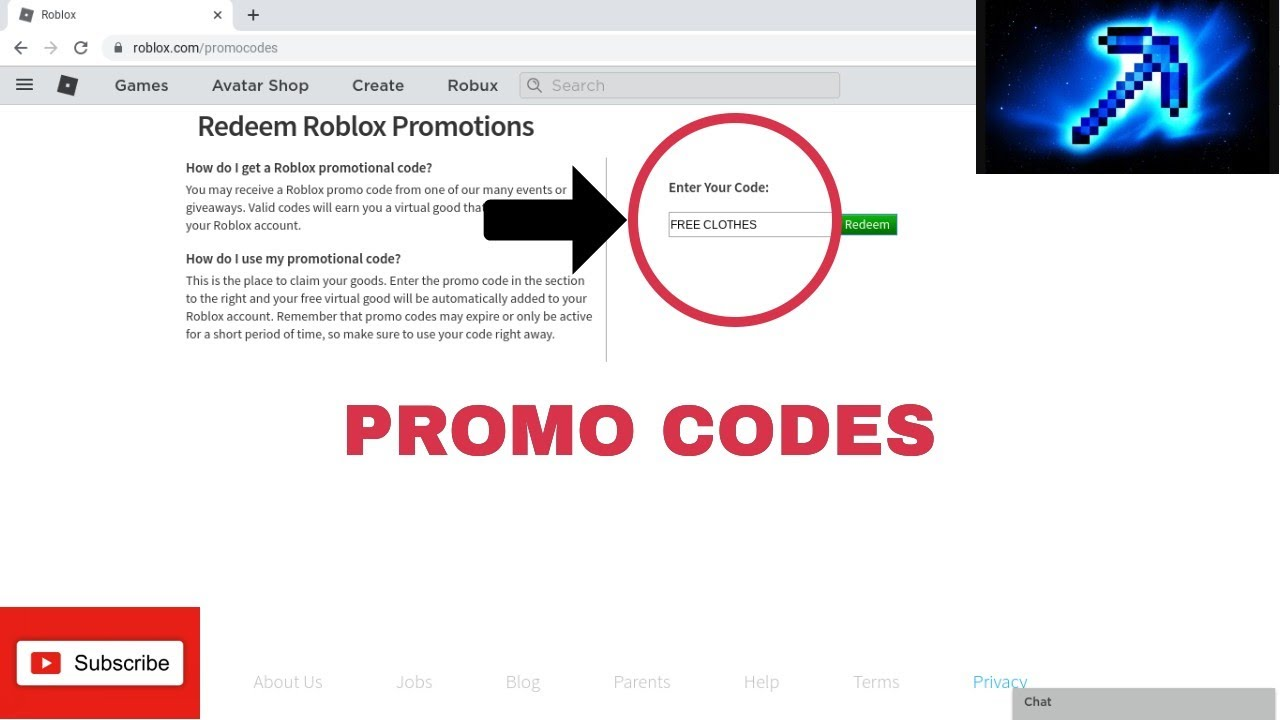 These Promo Codes Give You Free Clothes Roblox Youtube