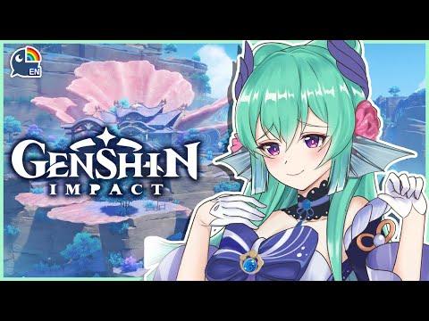 【GENSHIN IMPACT】 CHARACTER QUESTS!!! 【NIJISANJI EN   Finana Ryugu】 「LazuLight」