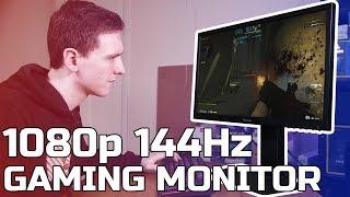 ViewSonic XG240R 1080p 144Hz Freesync Monitor Review