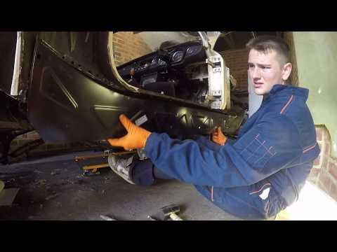MGB GT Restoration Pt 21 Fitting the Sills