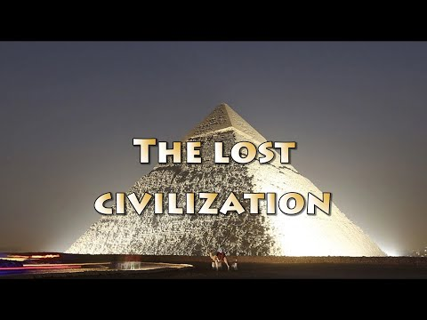 The lost civilization. Monuments to life. Ο χαμένος πολιτισμ
