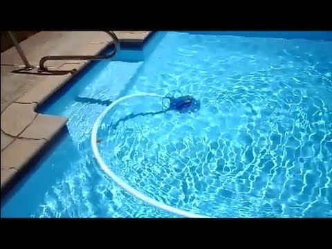 Vinyl pool care