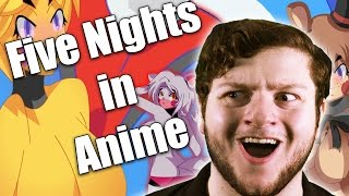 FIVE NIGHTS IN ANIME (Weird Games w/ Ross)