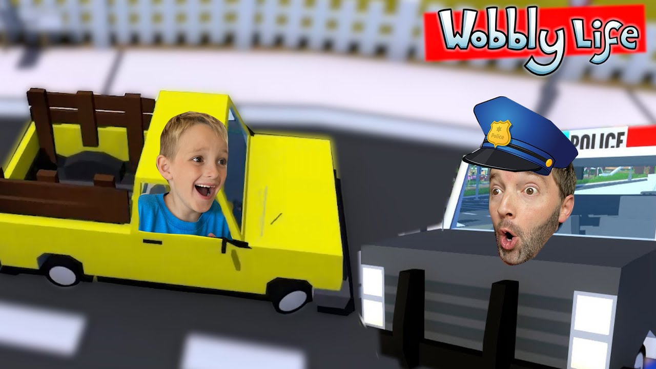 Father & Son STEAL A CAR?! / Video Game Time