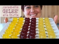 Caramelle Geleè alla Frutta Ricetta Facile - Fruit Jelly Candies Easy recipe