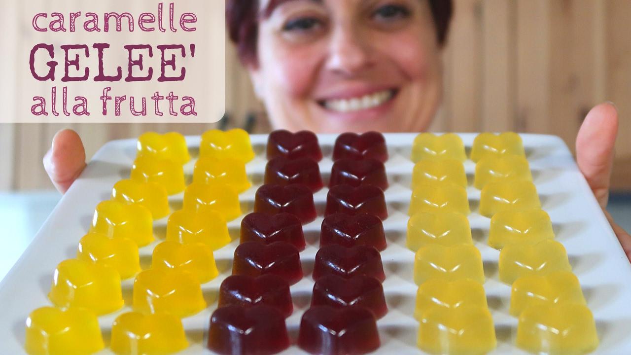 Caramelle gele alla frutta ricetta facile fruit jelly for Fatto in casa da benedetta 2