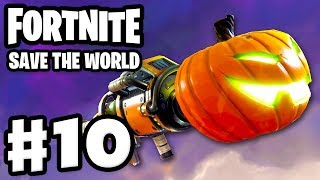 Fortnite: Save the World - Gameplay Walkthrough Part 10 - Jack-O-Launcher! (PC)
