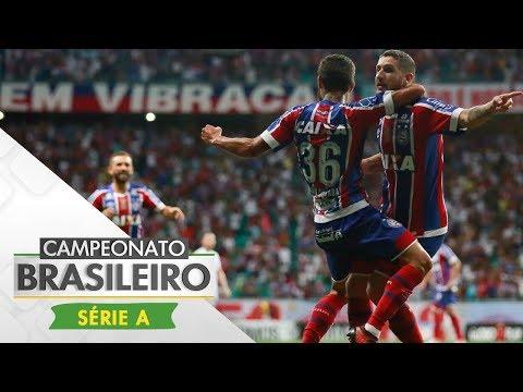 Melhores Momentos - Bahia 3 x 1 Santos - Campeonato Brasileiro (16/11/2017)