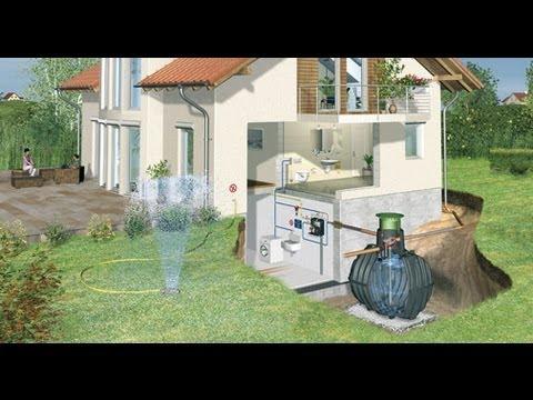 Aprovechamiento aguas pluviales c 1623 youtube for Aspersores para riego de jardin