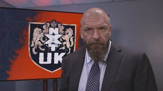Triple H announces NXT UK TakeOver in Blackpool this January