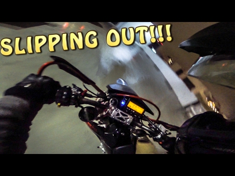 SUPERMOTO DRIFTING GONE WRONG!!