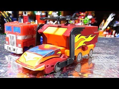 よみがえる TRANSFORMERS ホットロディマス stop motion autobot