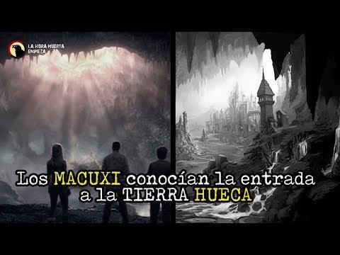 los MACUXI conocían  la TIERRA HUECA hace 100 años ^Gigantes * Video Psicofonía