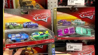 Disney Cars Toy hunt - Finally FOUND NEW Next Gens Eric Braker - Spikey Fillups - 2018 Disney Cars