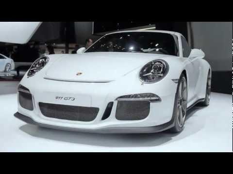 Porsche in Geneva 2013: Designing a new 911 GT3