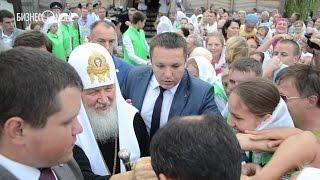 Как в Свияжске встречали патриарха Кирилла(Одним из пунктов визита патриарха Кирилла стал остров-град Свияжск, где предстоятель возглавил торжествен..., 2016-07-20T19:22:35.000Z)