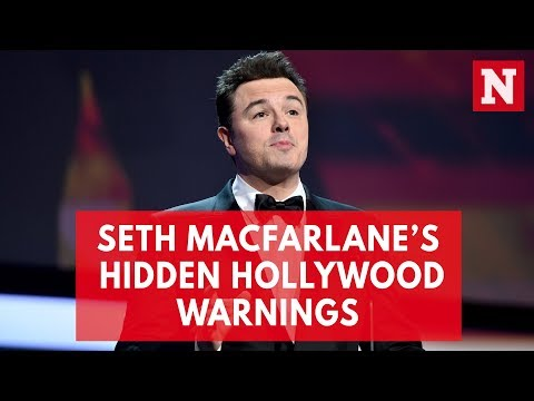 Seth MacFarlane's Hidden Hollywood Warnings