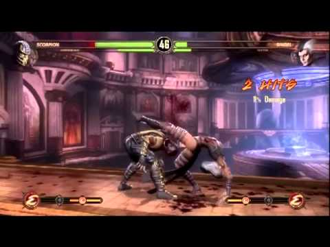 Let's Play Mortal Kombat 9 [3] Sindel is Willow Smith