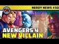 YouTube Turbo Tony Stark Silver Armor, Avengers 4 New Villain, James Gunn, Doctor Strange 2 | Nerdy News #30