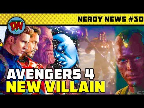 Tony Stark Silver Armor, Avengers 4 New Villain, James Gunn, Doctor Strange 2 | Nerdy News #30