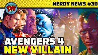 Tony Stark Silver Armor, Avengers 4 New Villain, James Gunn, Doctor Strange 2   Nerdy News #30