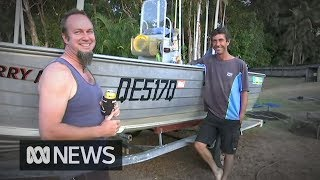 Fishermen picked up asylum seekers and 'showed them some crocs'