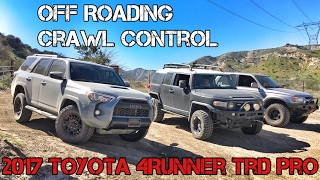 (Part8) 2017 4Runner TRD PRO Cement. Off Roading. Crawl Control. Sand.