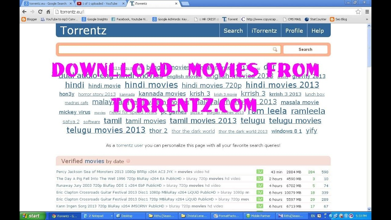 Torrent z movie