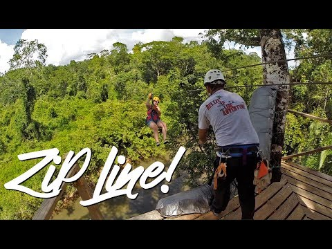 Belize Zip Line Adventure Excursion Tour