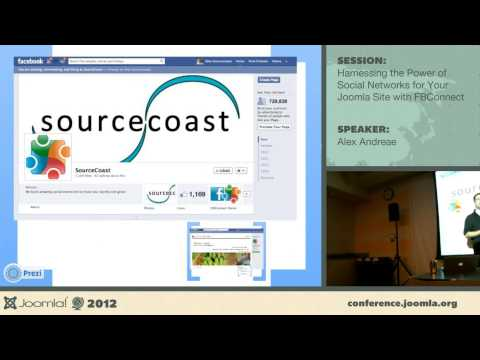 Harnessing the power of social networks with JFBConnect - Alex Andreae