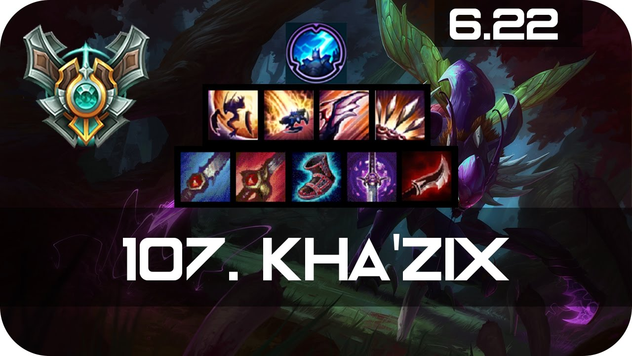 Shaco Build S7: Kha'Zix Jungle Vs Zac Master Preseason 7 Season 7 S7 Patch