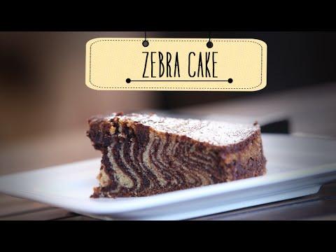 how to make a zebra cake youtube
