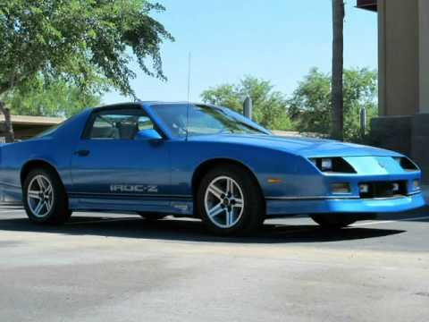 1985 chevy camaro z28 iroc for sale at gateway classic cars in il. Black Bedroom Furniture Sets. Home Design Ideas
