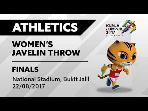 KL2017 29th Sea Games | KL2017 Athletics - Women's Javelin Throw FINALS | 22/08/2017