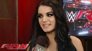 Paige sounds off on Renee Young: Raw, October 19, 2015