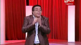 أحمد آدم يهاجم باسم يوسف: ''ماتيجي هنا وتتكلم''