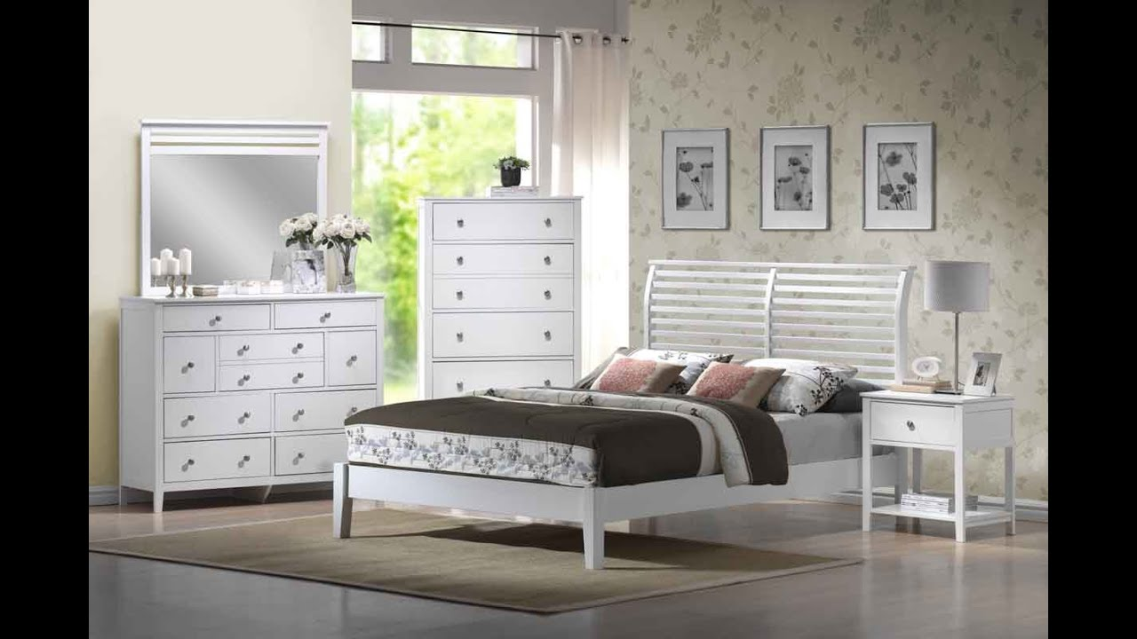 Distressed White Bedroom Furniture distressed white bedroom furniture - youtube