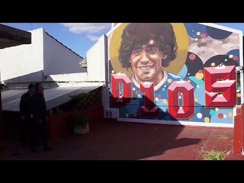 Maradona 'House of God' museum opens in Argentina - world