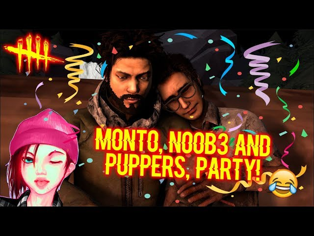 Monto, No0b3 and Puppers, Party! - Survivor Gameplay - Dead