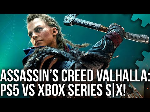 Assassin's Creed Valhalla: PS5 vs Xbox Series X/ Series S Next-Gen Comparison!