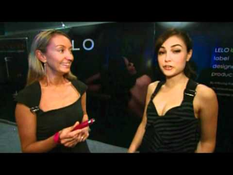 Sasha Grey interviews LELO at Sexpo