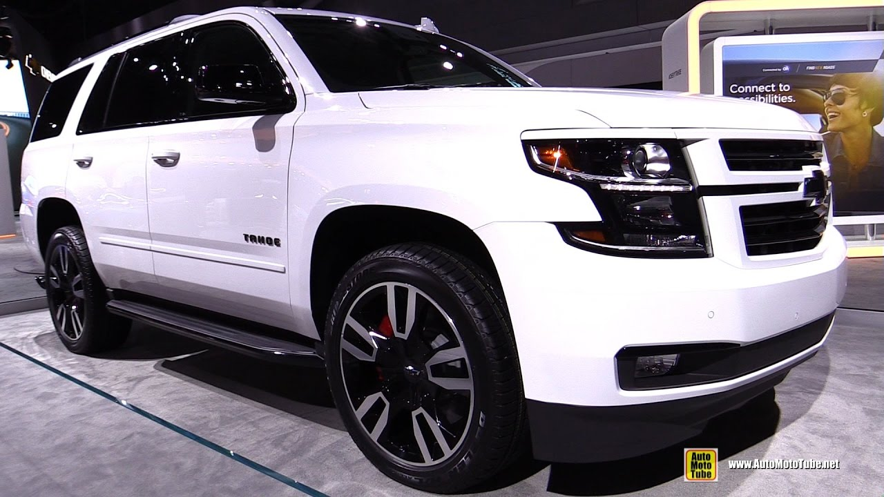 2018 Chevrolet Tahoe Exterior And Interior Walkaround 2017 New York Auto Show