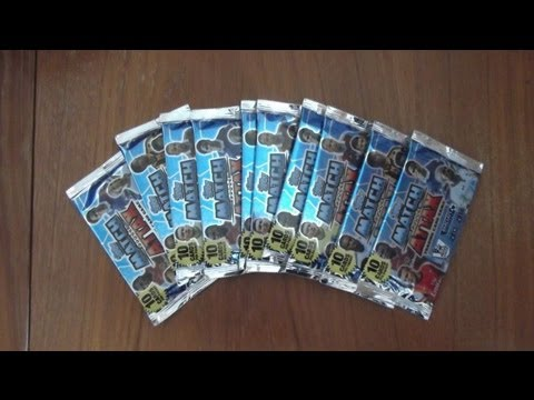 100 CLUB PULL!!! Opening 10 PACKS of Topps Match Attax 2013 / 2014 Premier League HD