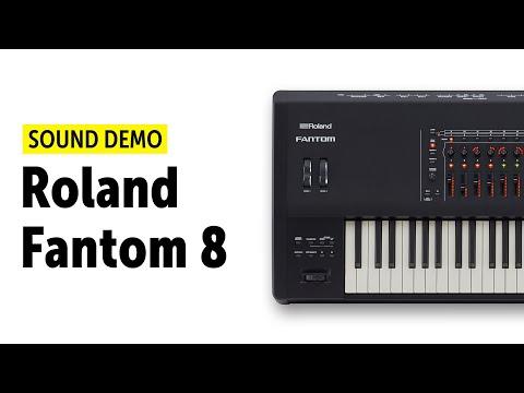 Roland Fantom 8 Sound Demo (no talking)