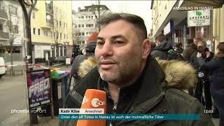 Kadir Köse (Anwohner) zum Anschlag in Hanau am 20.02.20