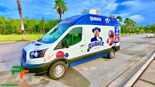 Quaker Oats Ford Transit Food Truck